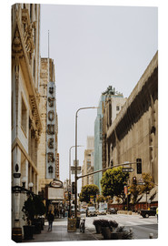 Stampa su tela  Downtown Los Angeles III - Pascal Deckarm