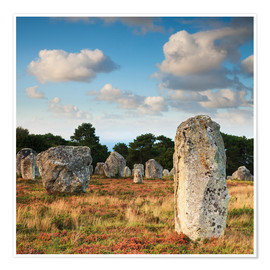Poster Premium  Megaliths in Carnac
