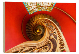 Legno  Spiral staircase in Brittany