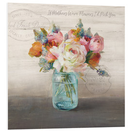 Forex  41686 18x18HR French Cottage Bouquet II Mothers - Danhui Nai