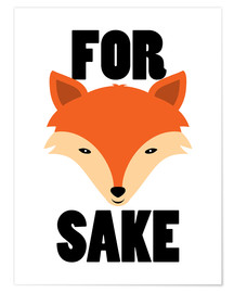 Poster Premium For Fox Sake