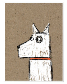 Poster Premium  West Highland Terrier - Nic Squirrell