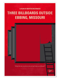 Poster Premium Three Billboards Outside Ebbing, Missouri