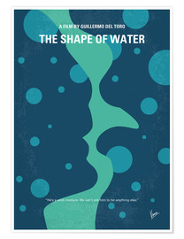 Poster Premium No902 My The Shape of Water minimal movie poster