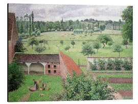 Stampa su alluminio  Look out my window - Camille Pissarro