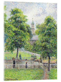 Stampa su vetro acrilico  the ey exhibition impressionists in london exhibition the tate britain - Camille Pissarro