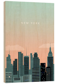 Legno  New York Illustration - Katinka Reinke