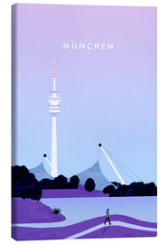 Tela  Munich illustration - Katinka Reinke
