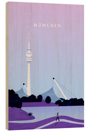 Legno  Munich illustration - Katinka Reinke