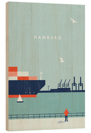 Legno  Hamburg Illustration - Katinka Reinke