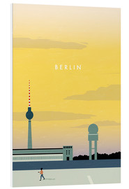 Forex  Berlin - Tempelhofer Feld illustration - Katinka Reinke