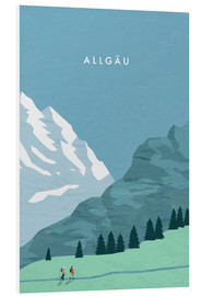Forex  Hiking in the Allgäu illustration - Katinka Reinke