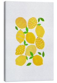 Stampa su tela  Lemon Crowd - Orara Studio