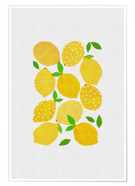 Poster Premium  Lemon Crowd - Orara Studio