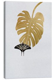 Tela  Butterfly & Monstera - Orara Studio