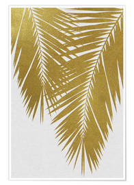 Poster  Palm Leaf Gold II - Orara Studio