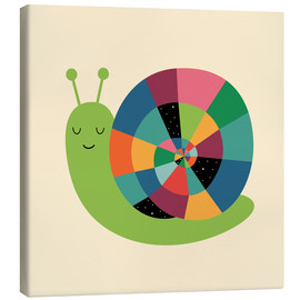 Stampa su tela  Snail Time - Andy Westface