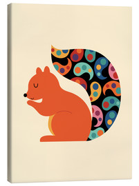 Tela  Paisley Squirrel - Andy Westface