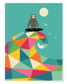 Poster Premium  Surf Up - Andy Westface