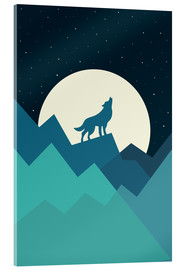 Stampa su vetro acrilico  Keep The Wild In You - Andy Westface