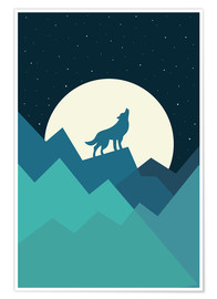 Poster Premium  Keep The Wild In You - Andy Westface