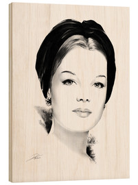 Legno  Hollywood Diva - Romy Schneider - Dirk Richter