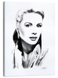 Stampa su tela  Diva di Hollywood, Grace Kelly - Dirk Richter