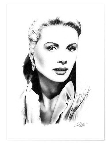 Poster Hollywood Diva - Grace Kelly