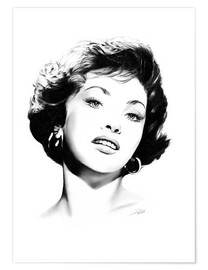 Poster Hollywood Diva - Gina Lollobrigida