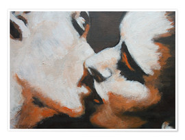 Poster  Lovers -  Kiss 6 - Carmen Tyrrell