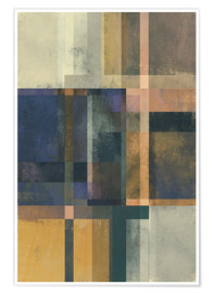 Poster Premium Abstract Geometry No 19