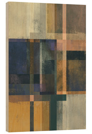 Stampa su legno  Abstract Geometry No 19 - Pascal Deckarm