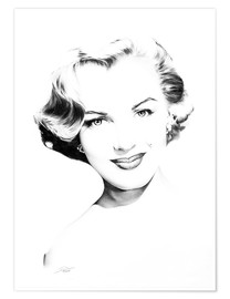Poster Hollywood Diva - Marilyn Monroe
