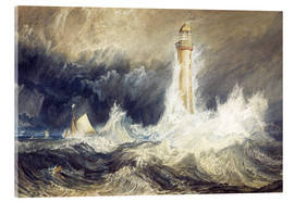 Stampa su vetro acrilico  Faro di Bell Rock - Joseph Mallord William Turner