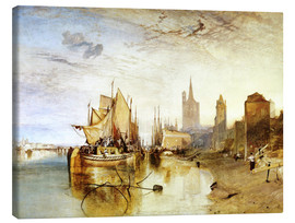Stampa su tela  display image - Joseph Mallord William Turner