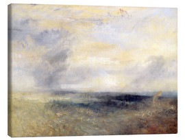 Stampa su tela  Margate vista dal mare - Joseph Mallord William Turner