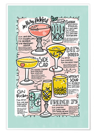 Poster  Have A Drink on Me - Cynthia Frenette