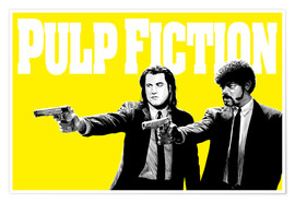 Poster Premium Pulp Fiction Yellow BANG