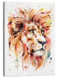 Stampa su tela  All Things Majestic (Lion) - Sillier Than Sally