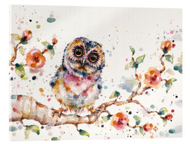 Stampa su vetro acrilico  Yep Cute Is My Middle Name (baby Owl) - Sillier Than Sally
