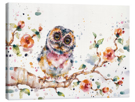 Stampa su tela  Yep Cute Is My Middle Name (baby Owl) - Sillier Than Sally