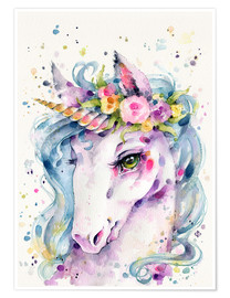 Poster Premium  Piccolo unicorno - Sillier Than Sally