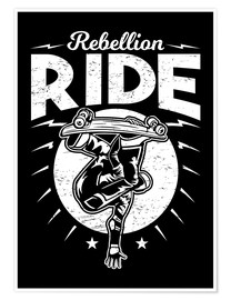 Poster Premium Rebellion Ride