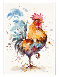 Poster  Roosters About - Sillier Than Sally