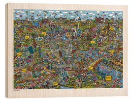 Legno  Berlino - Cartoon City
