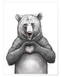 Nikita Korenkov - Bear with heart