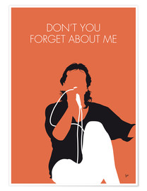 Poster Premium Simple Minds - Don't You Forget About Me