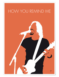 Poster Premium Nickelback - How You Remind Me