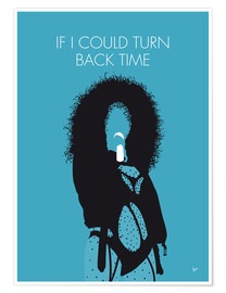 Poster Premium Cher - If I Could Turn Back Time