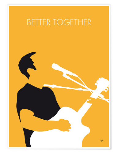 Poster Premium Jack Johnson - Better Together